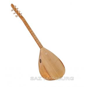 Baglama shortneck Saz Sycamore 40 Body