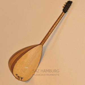 Baglama Saz Shortneck with Guitar Mechanic