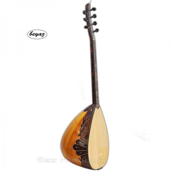 Pro Baglama  Saz  Shortneck Mulberry Wood