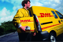 Versand, DHL Delivery