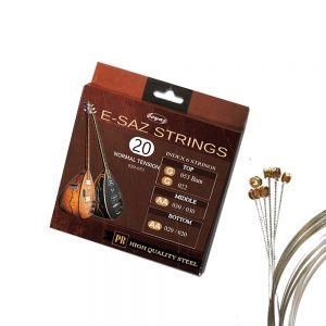 Electric Saz Strings Elektro Saz Teli e-Baglama e-Saz Saiten