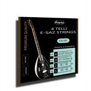 4 Telli Baglama Saz Strings Beyaz Müzik Saiten für 4 Telli Saz Telleri