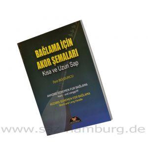 Akkord Schemen Für Bağlama Kurz und Langgriff