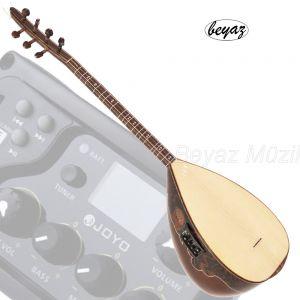 Pro  Baglama Saz Kurzhals EQ MP3 USB Preamp  40cm Korpus