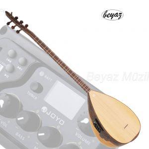 Pro Baglama Saz mit USB mp3 EQ Korpus 40cm Langhals Hochglanz