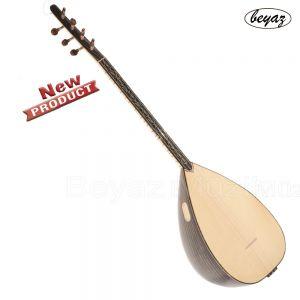 Professional Acoustic Baglama Beyaz Müzik