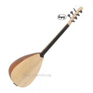 Kısa Sap Oyma dut bağlama Balta ( Dede  Dede Sazı) beyaz müzik direkt vom hersteller üretici carved profrssional geschnitzte Korpus saz