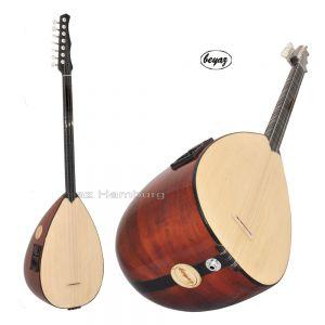 Pro Baglama  5 Band EQ Artec Pickup Rosewood Pegs Dot Inlays Beyaz Music Direkt vom Hersteller Kaufen