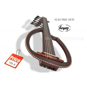 Pro Electric  Oud Ud with Preamp voume Tune Control & Under Sadle Pickup Artec