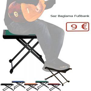 Fußbank für Gitarre Saz Baglama Ud