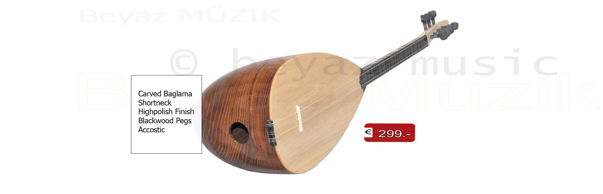 Carved Baglama Oyma Dut