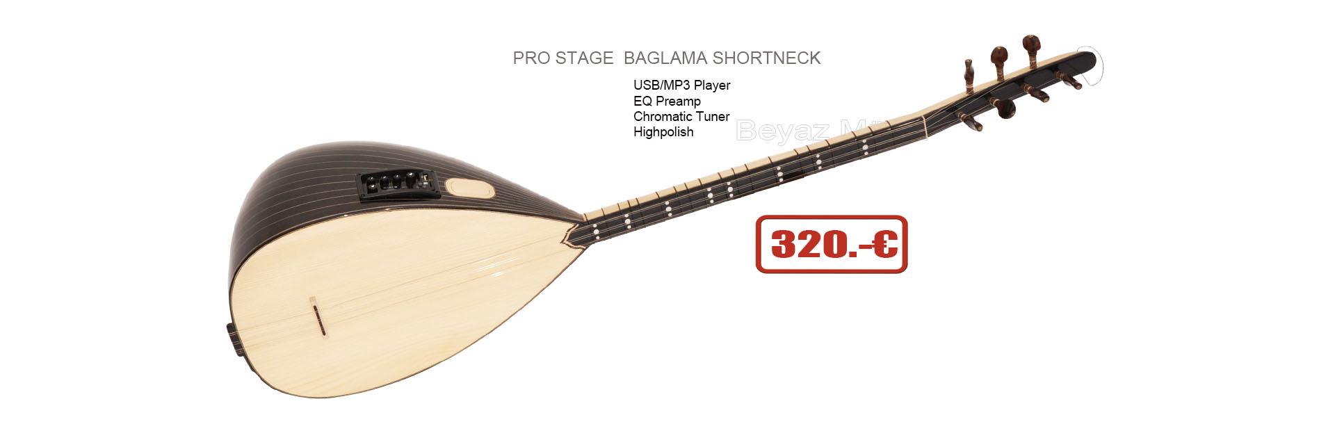 New Serie Pro  Shortneck Baglama